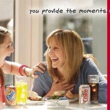 Coke Mum & daughter