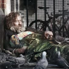 Martin, The Pigeon man